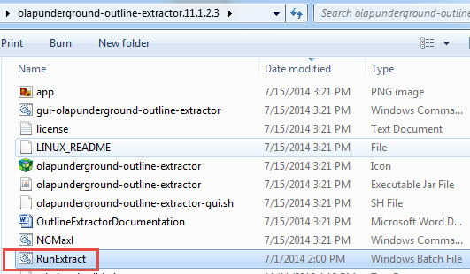 Automating the Next Generation Outline Extractor from VBA – Real Tri