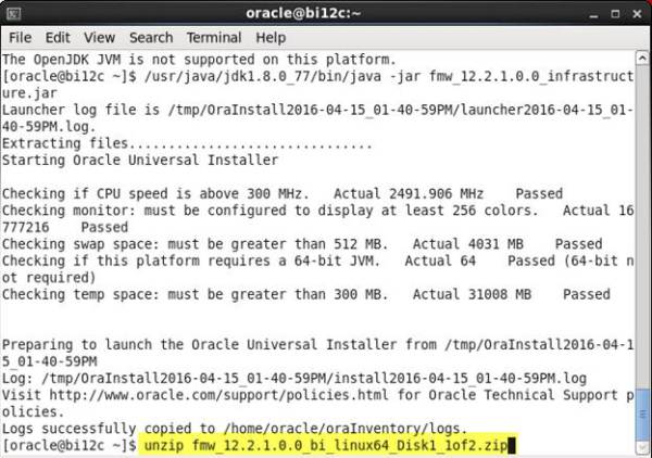 Installing OBIEE on Linux – Real Tri Geek