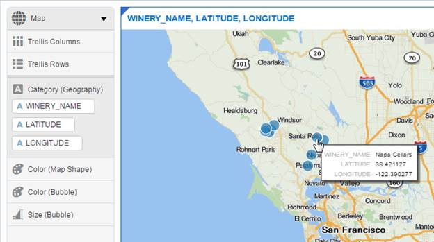 Creating Maps In Data Visualization Desktop Real Tri Geek - Map my data